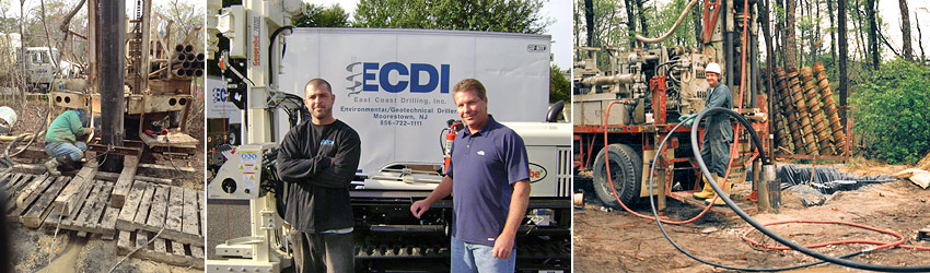 East Coast Drilling, Inc. - Environmental & Geotechnical Drilling  in NJ-DE-PA-MD-NY