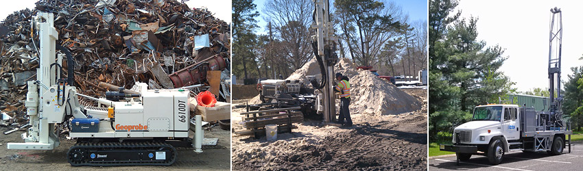 Environmental & Geotechnical Drilling in NJ-DE-PA-MD-NY